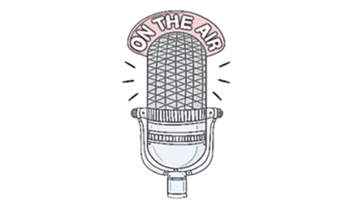 "WMLN microphone ""On the air"" image"