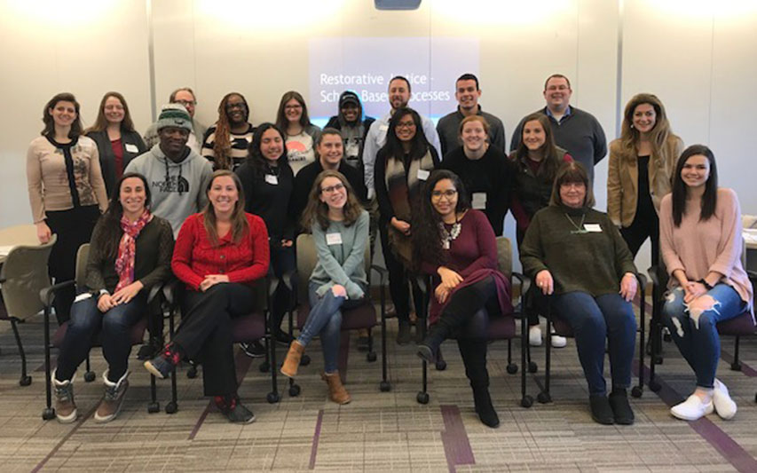Students, Faculty, and Staff Learn Restorative Justice Principles at Curry College