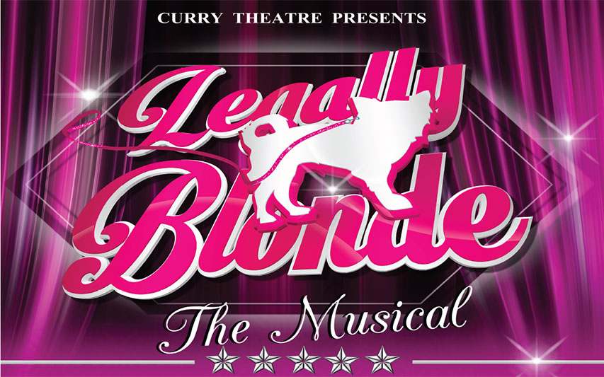 Curry College Theatre Presents: Legally Blonde - The Musical Poster