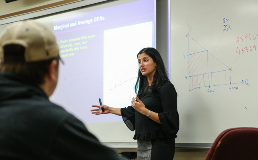A Teachable Moment: Students Learn Real-Time Global Economics in the Age of COVID with Dr. Ishani Tewari