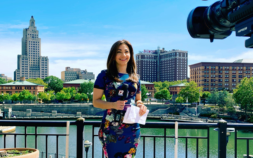 Providence Market Gains Gina Marini '11 as Newest Anchor and Reporter