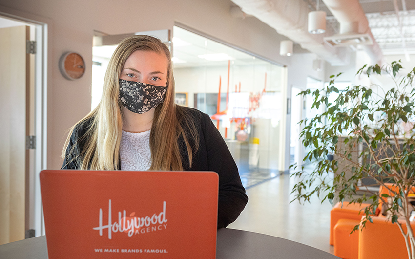 PR Intern Nicole Bousquet '21 Gains A-List Experience at Hollywood Agency