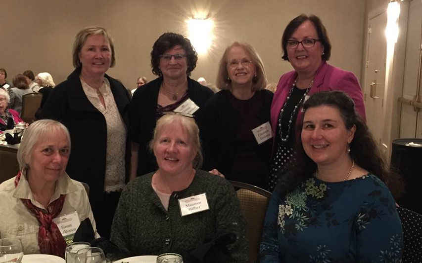School of Nursing faculty members at Annual Massachusetts American Nurses Association (ANA) Awards Night.