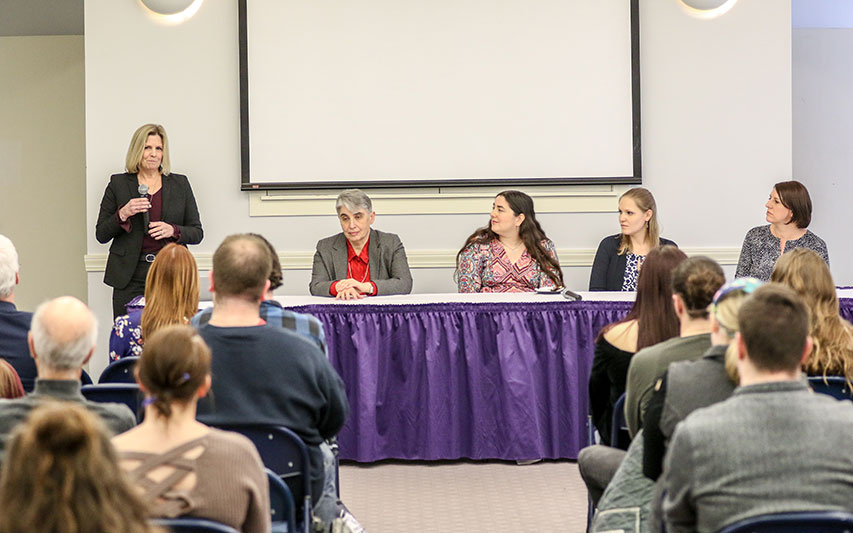 Curry College Women in STEM event