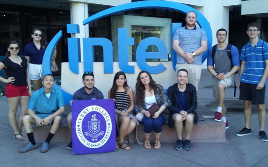 Students visit Silicon Valley to experience the hub of business and technology first-hand.