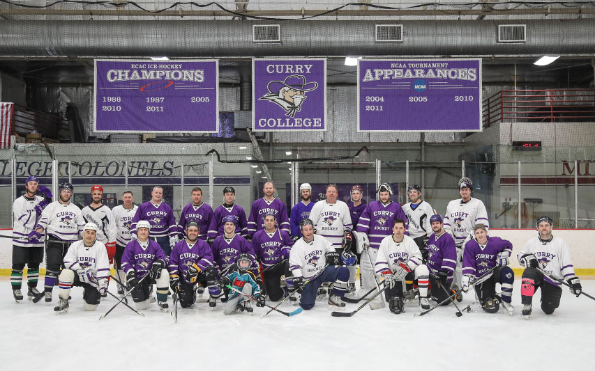 Curry Colonels Men's Ice Hockey Team Picture