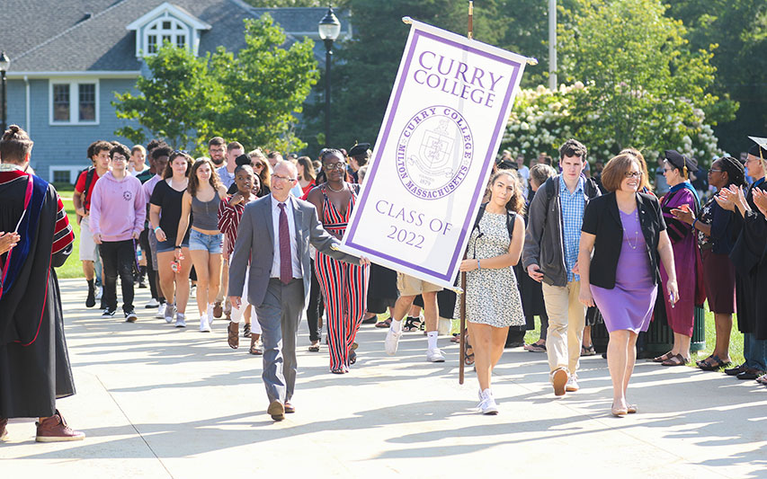 New Student Convocation at Curry College