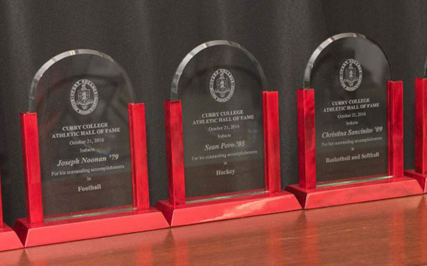 Curry Colonels Athletic Hall of Fame awards