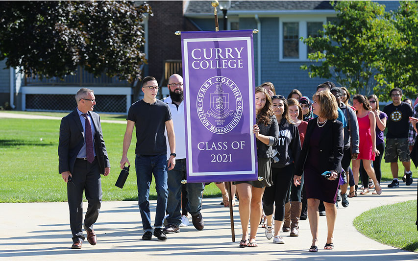 Curry Welcomes Class of 2021 at Academic Convocation   Curry College