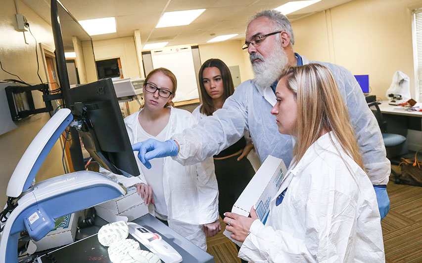 Curry College Forensic Science Program Featured on WCVB's Chronicle