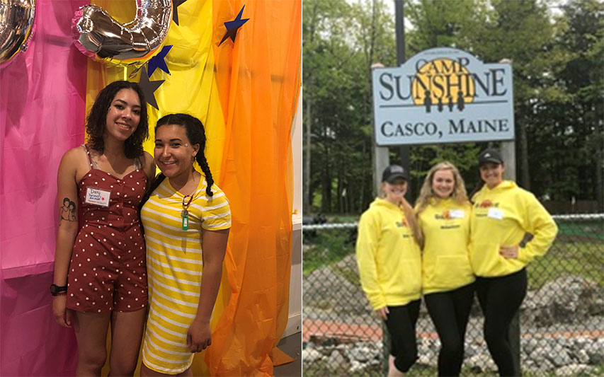 Students and Alumna Spend Summer Working in Service of