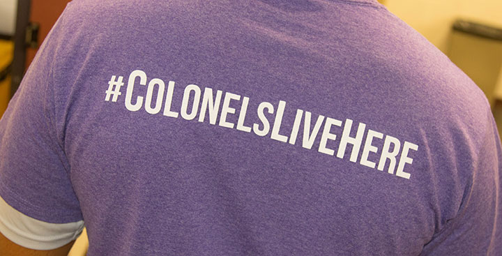 #ColonelsLiveHere T-Shirt