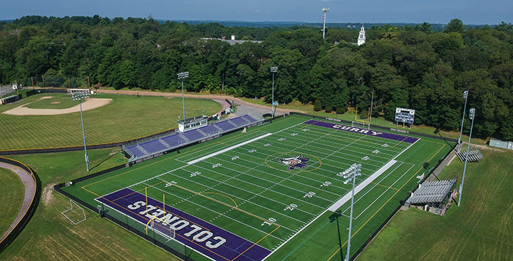 Curry College athletic fields