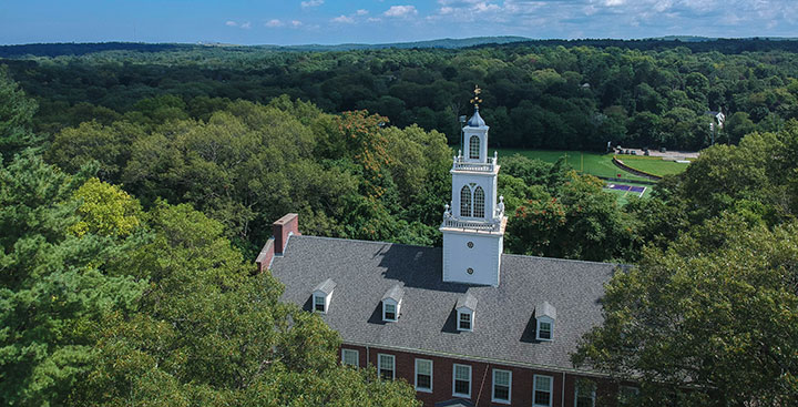 The State House on the Curry College Milton campus, home to our educational community.