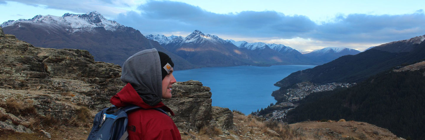 Curry College Student Abroad in New Zealand