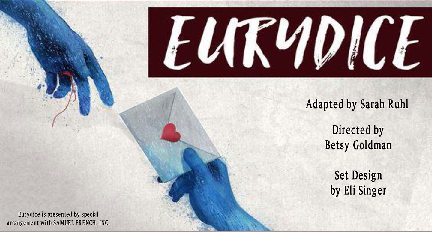 Curry Theatre's Eurydice Poster