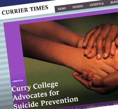 A Currier Times article screenshot