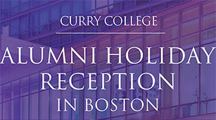 Alumni Holiday Reception Graphic