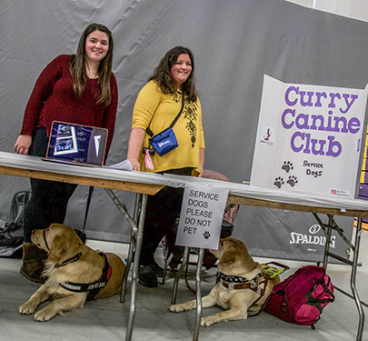 Curry Canine Club Student Reps
