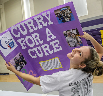 Curry for a Cure Student Rep