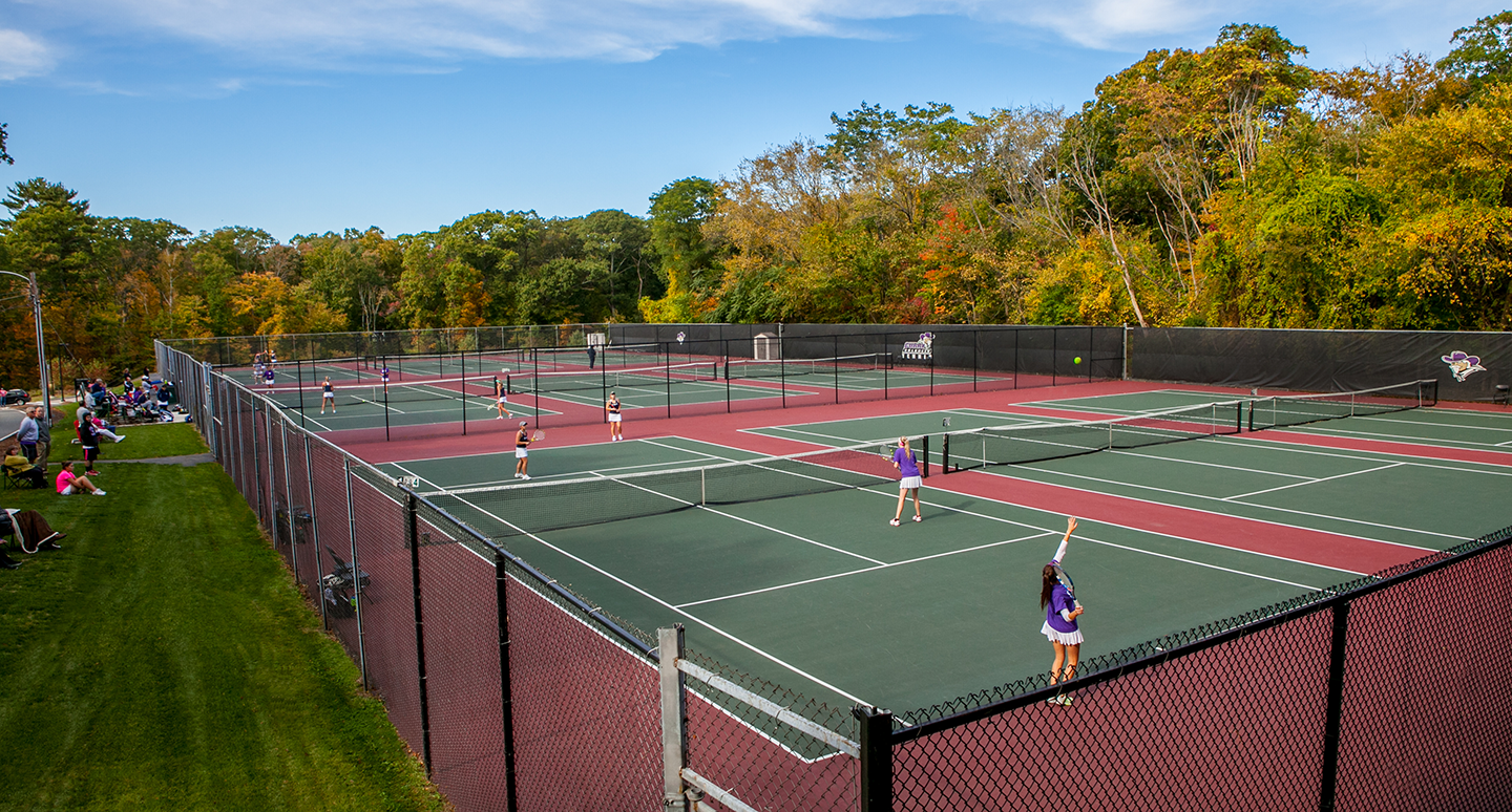 Curry tennis courts