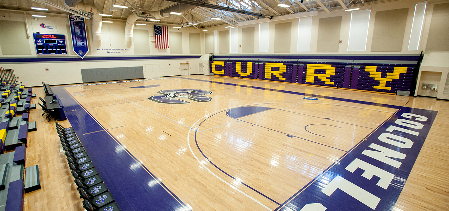 Katz Gymnasium in the Student Center